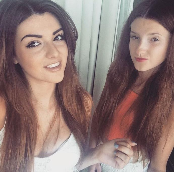 How are these two girls sisters. One is prettier than the other, surly this is unfair?