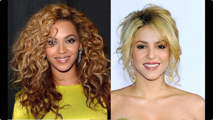 Who's prettier: Beyonce or Shakira?