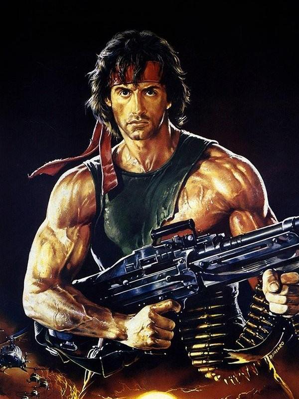 Are any of you a fan of the John Rambo films?