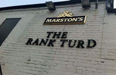 If you were in charge of opening your own PUB/INN/BAR, what would you call it?