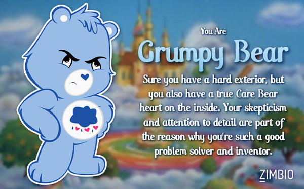 (Quiz) Which Care Bear are you?