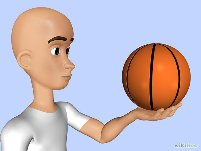 Can you spin a basketball on the palm of your hand?