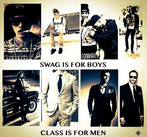Girls, what do you prefer? Swag or class?