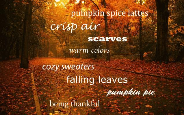 What's your favorite part of fall?