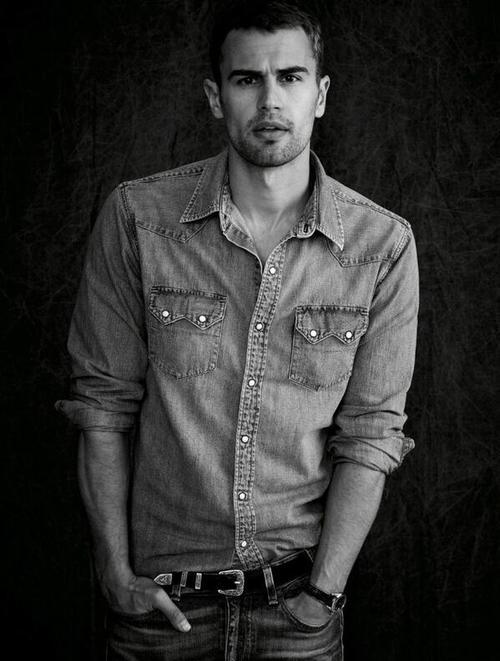 Girls, Am I the only one who thinks Theo James is basically the sexiest man alive?
