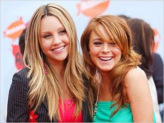 If we could get back the old Amanda Bynes or the old Lindsay Lohan, who would you rather see making movies again?