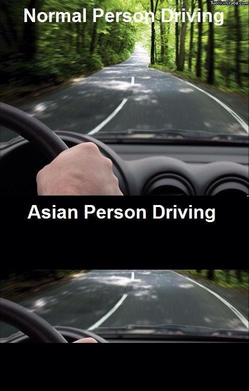 Not to be racist but do Asians have limited vision?