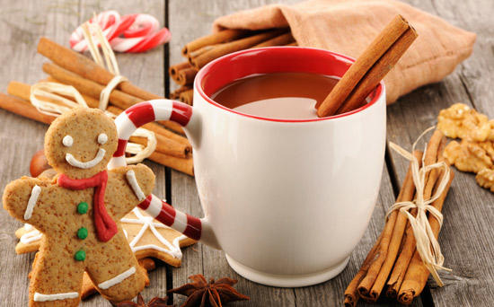 What's more refreshing a hot drink on a cold day or a cold drink on a hot day?
