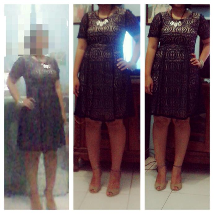 Am I too fat to wear this dress ? What do you think about this dress ? Is it OK to attend wedding party with this dress ?