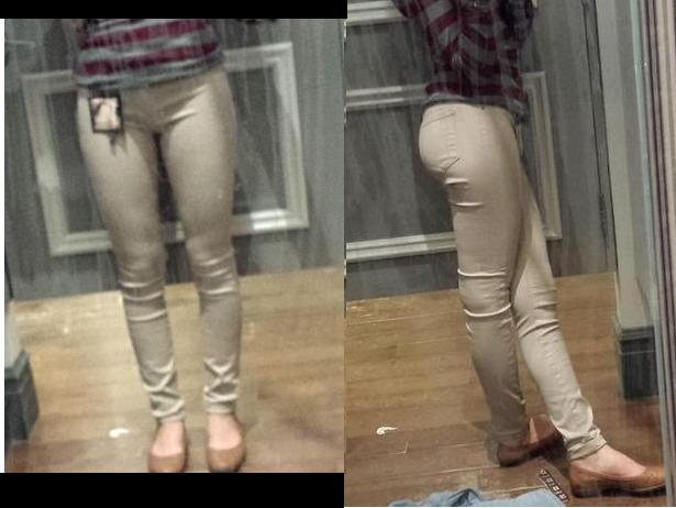 Is my butt/legs too fat for these pants?