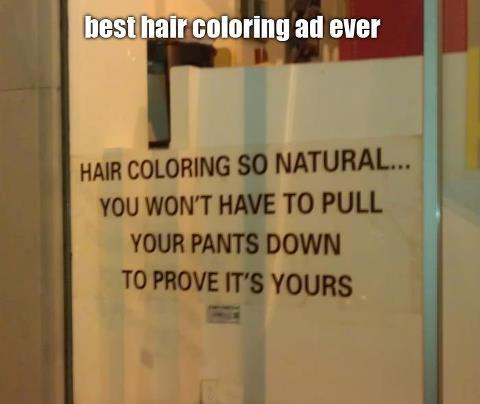 Girls, Would this ad make you go into the shop?