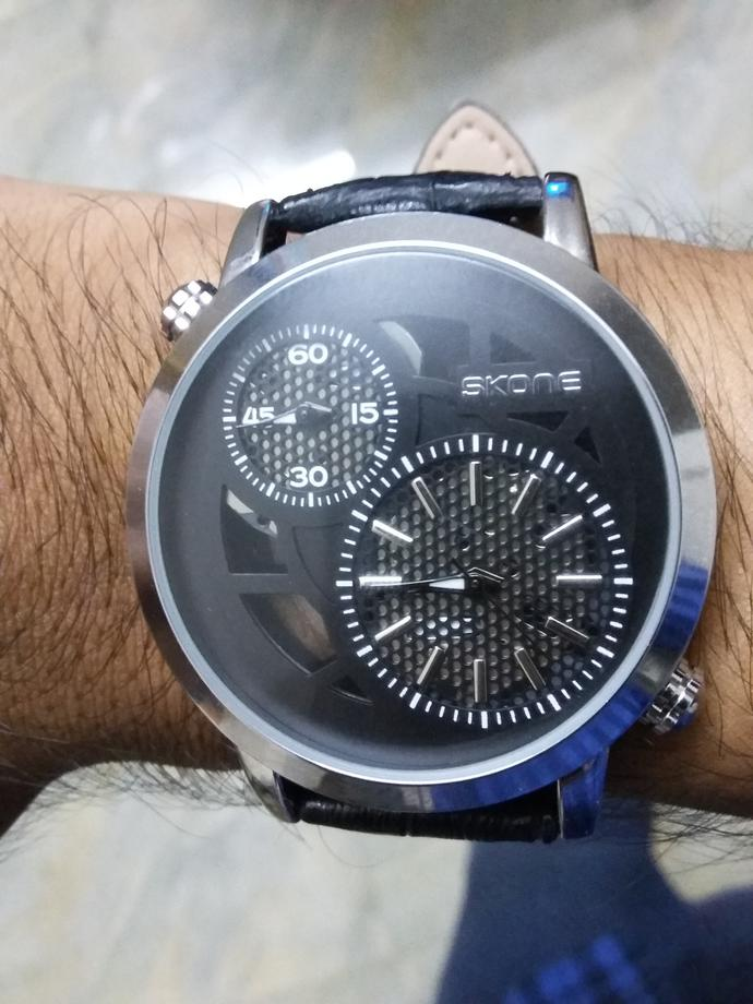 How's my new wrist watch?