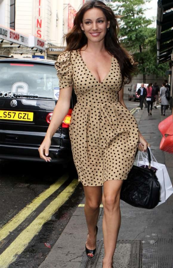 Do you think Kelly Brook is the ultimate boy fantasy and impossible standard for regular girls to be measured?