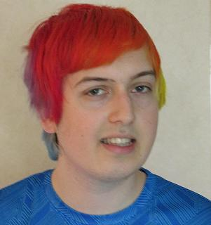 Girls, What do you think of my Current Rainbow Hair?