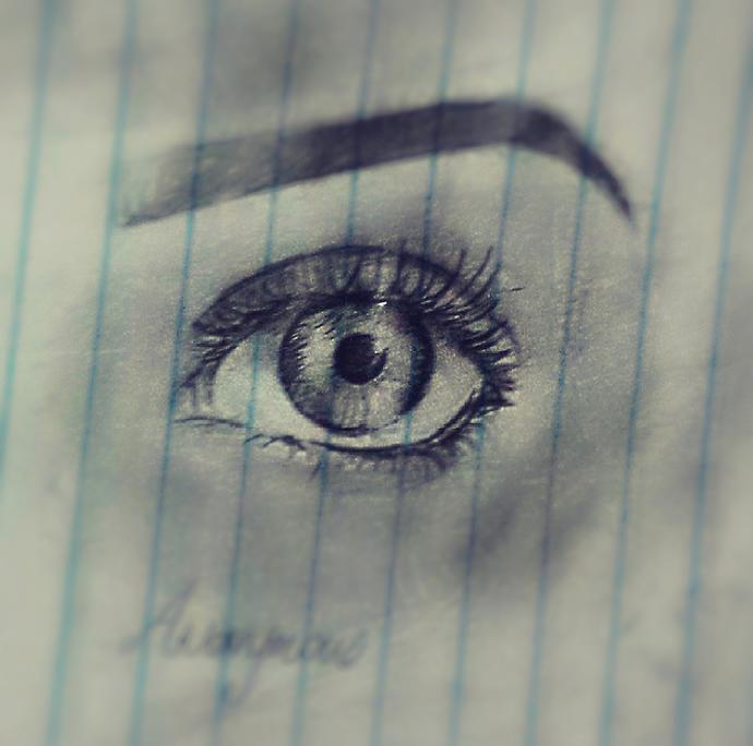 How's my eye ....😃?