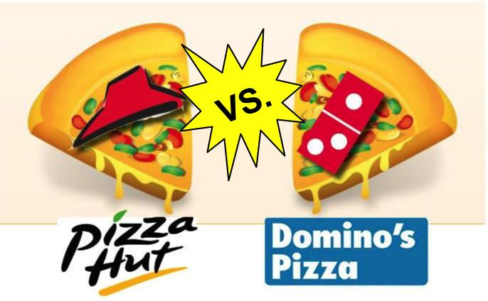 Pizza Hut vs Dominos Pizza?