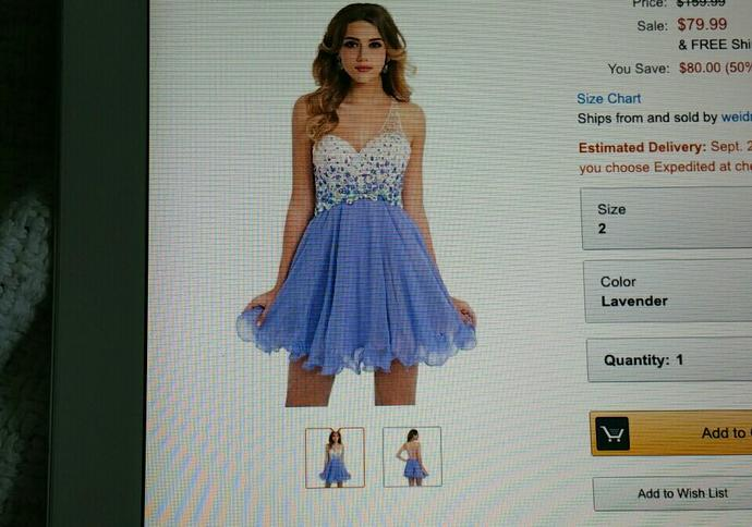 Which color homecoming dress??