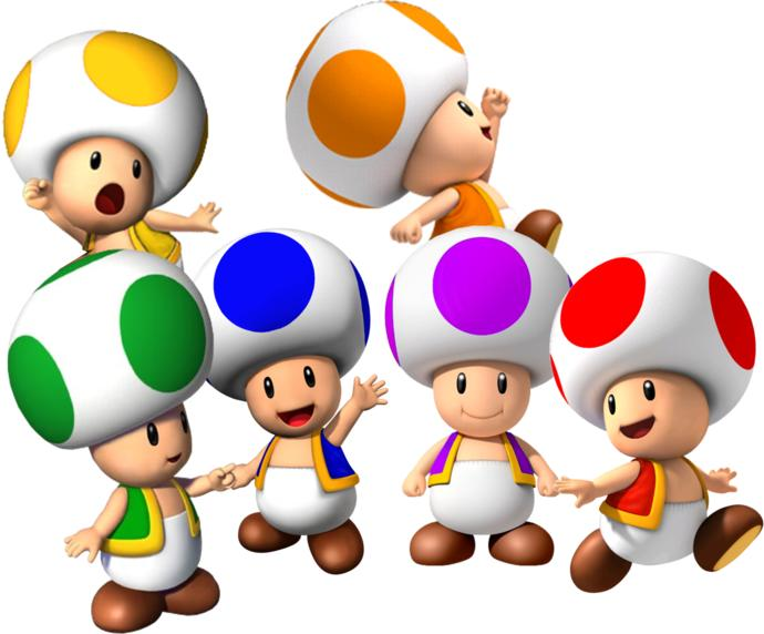 How would you react if you had a kid but they looked like a Toad from the Super Mario series?