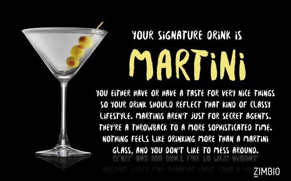 Quiz: What should your signature drink be?