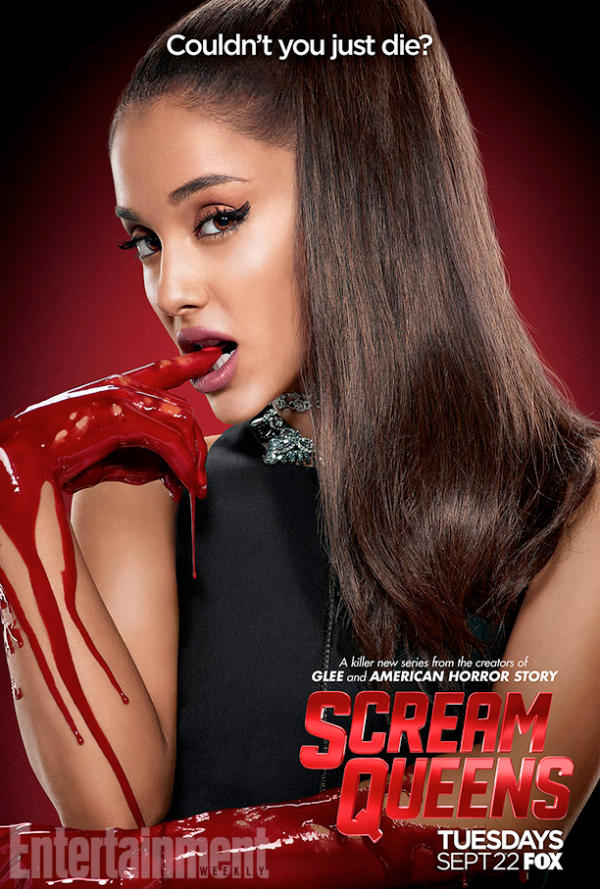 Ok, who's watching the new show Scream Queens right now? We officially must discuss Ariane Grandes death scene. Is she the new Cindy or what lmao?