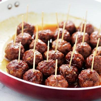Do you eat your meatballs with their toothpicks or without?