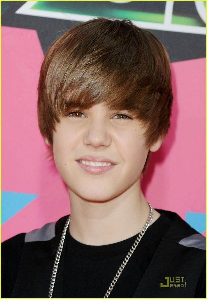 What yeear did justin bieber look his best?<br />