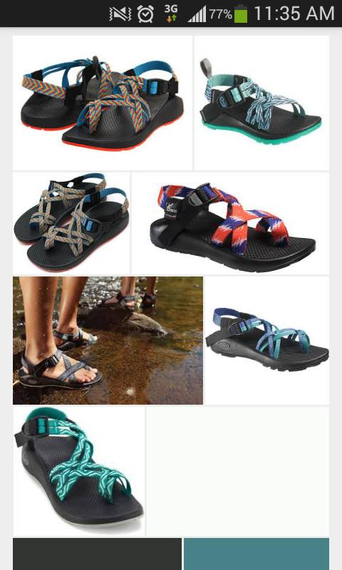 Okay just about every girl at my school has a pair of chacos and wears them all the time with everything, is this a trend everywhere?