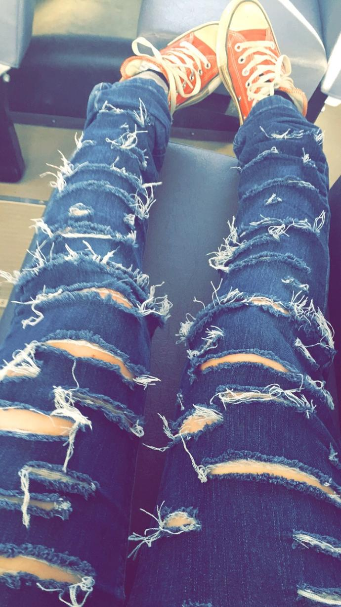 Opinion on ripped jeans like these?