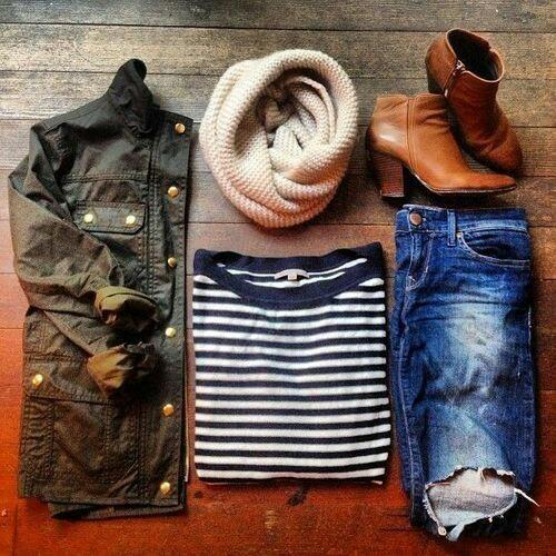 Do you like when it's Summer to wear Summer outfits or when it's Fall to wear Winter outfits?