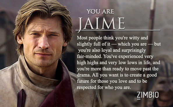 what game of thrones character are you?