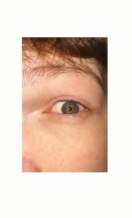 What colour would you say my eyes are?