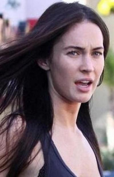 What do you think about Megan fox without makeup?
