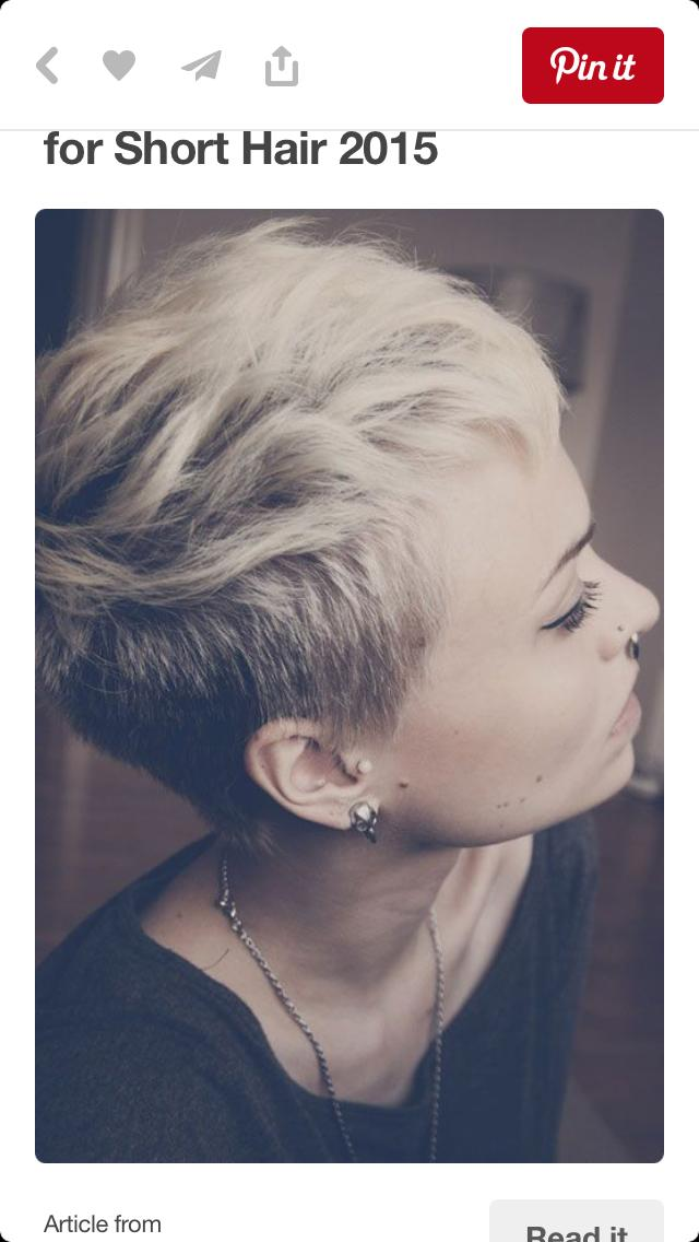Opinions on girls with short hair?