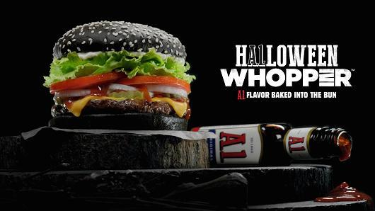 Have you tried the hALoween from Burger King?