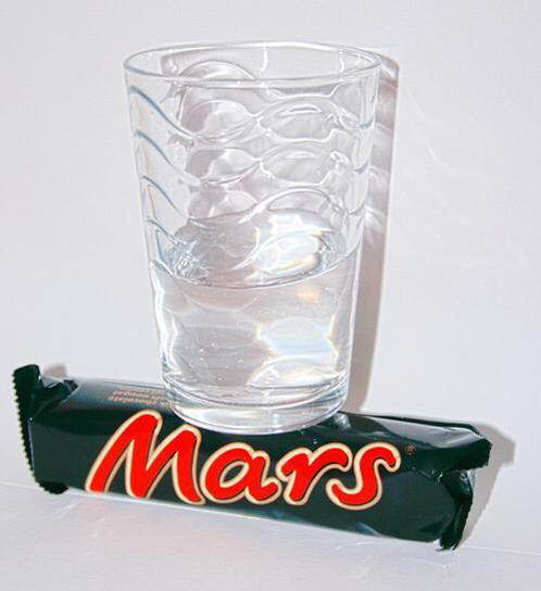 Anyone else excited over the discovery of a glass of water on mars?