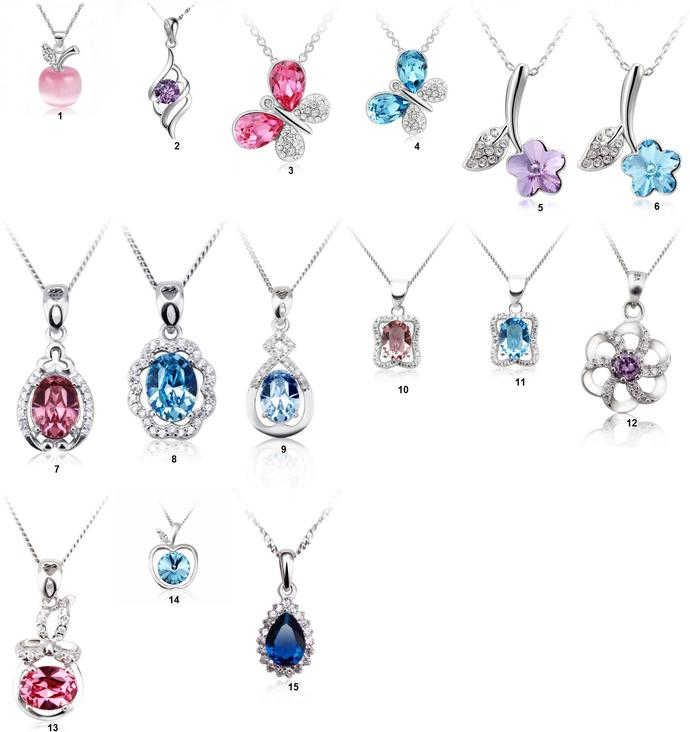 Girls, Which one of those pendants(Necklaces) as a birthday present ?