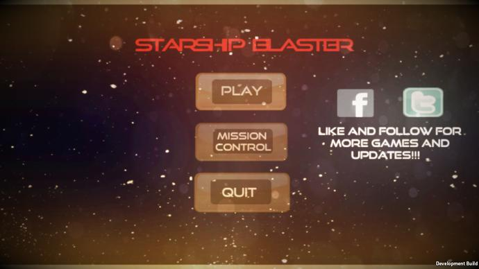 What do you think of my first mobile game/app called Starship Blaster?