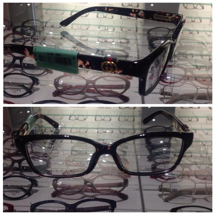 Which glasses is nicer?