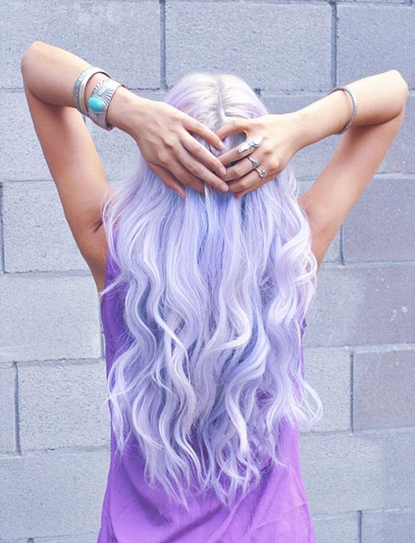 Guys, what do you think about pastel color-dyed hair?