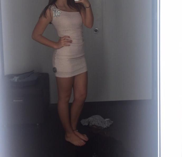 How does this homecoming dress look?