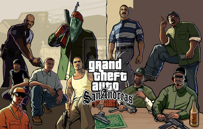 What's your most favorite Grand Theft Auto (GTA) video game in the whole franchise?