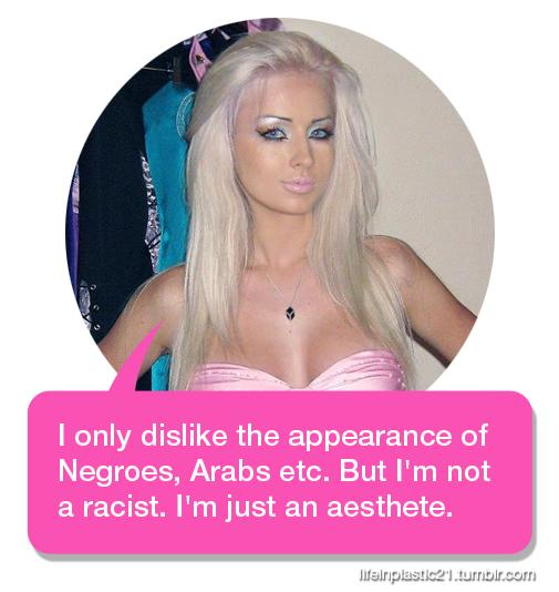 Is Valeria lukyanova a bad person?