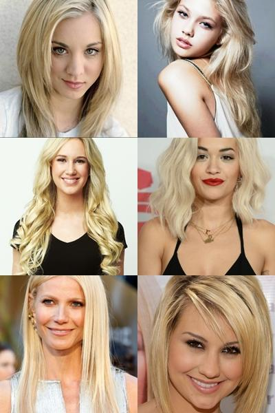 Do you find average face girls with blonde hair attractive bc they're blonde?