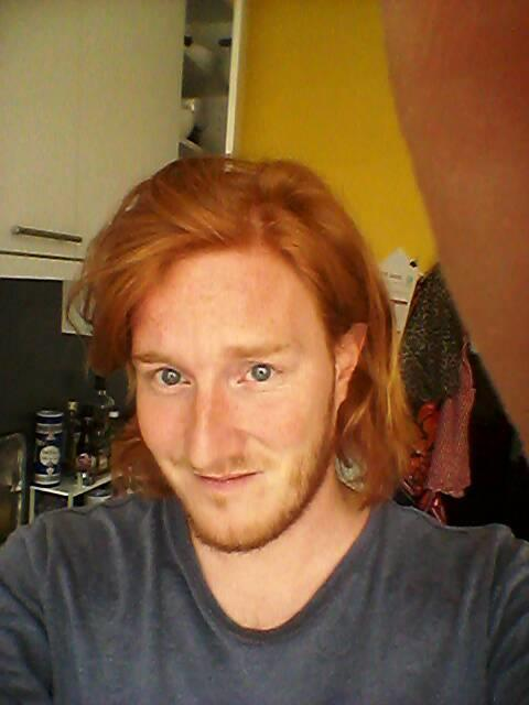 Long ginger hair - What's your opinion?