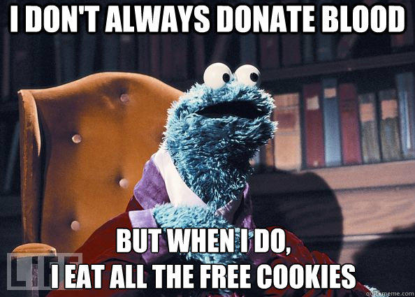 Do you give blood?