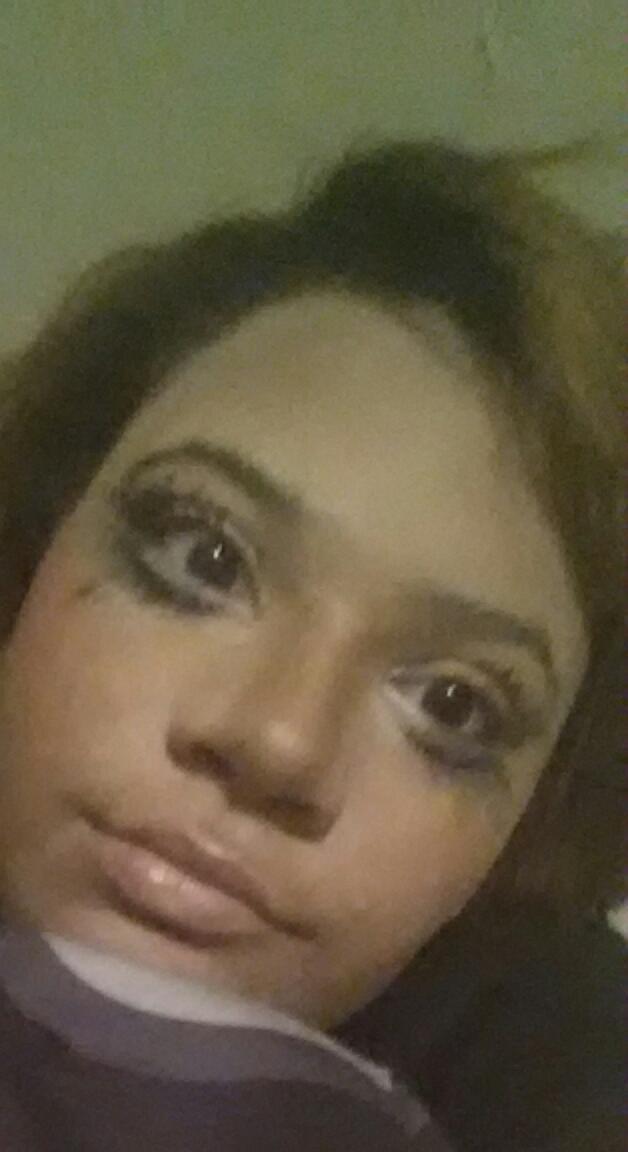 Rate my crappy Halloween makeup?