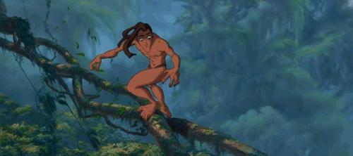 Why does Tarzan not have a beard??