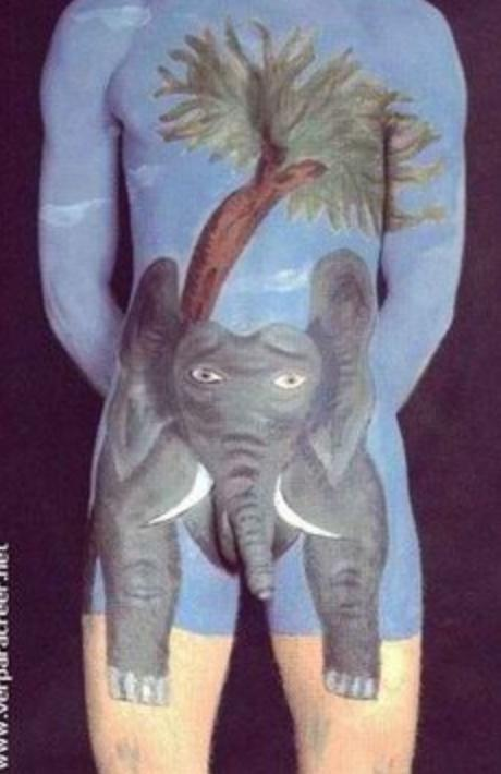 Pick one of the best body art pic among these?