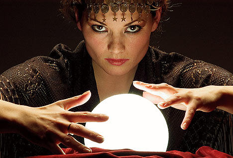 Why do you need to make an appointment for seeing a clairvoyant?