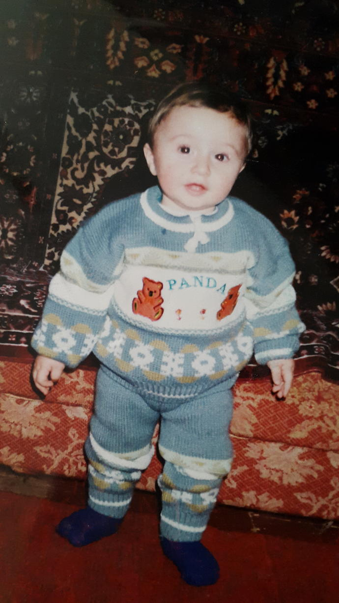 How do i look ? When i was 2 years old and now ?